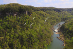 Cumberland River, Devil's Jump Overlook, Big South Fork National River and Recreation Area, Kentucky