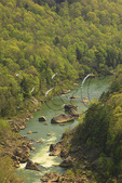 Devil's Jump Overlook, Cumberland River, Big South Fork National River and Recreation Area, Kentucky