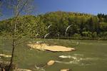 Cumberland River in Cumberland Falls State Park, Corbin, Kentucky
