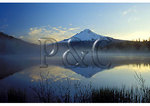 Sunrise, Mount Hood and Trillium Lake, Mount Hood National Forest, Oregon