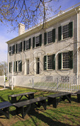 The Centre Family Dwelling at Shaker Village of Pleasant Hill, Harrodsburg, Kentucky