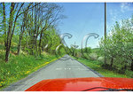 Driving on Gravity Hill, Bedford County, Pennsylvania