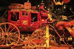 Carriage exhibit at International Museum of the Horse, Kentucky Horse Park, Lexington, Kentucky