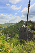 Chained Rock Overlook, Pine Mountain State Resort Park, Pineville, Kentucky