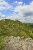 View from Lookout Point, Pine Mountain State Resort Park, Pineville, Kentucky