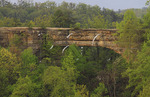 View of Natural Bridge from Lookout Point, Natural Bridge State Resort Park, Slade, Kentucky