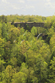 View of the Natural Bridge from Lookout Point, Natural Bridge State Resort Park, Slade, Kentucky