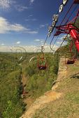 Skylift to top of the Natural Bridge, Natural Bridge State Resort Park, Slade, Kentucky