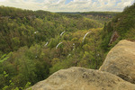 View into Devil's Canyon, Red River Gorge Geological Area, Slade, Kentucky