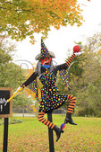 Halloween Decoration, Main Street, Grafton, Vermont