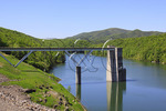 Dam and Outlet Structure, Lake Moomaw, Gathright Dam, Covington, Virginia