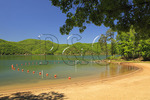 Swimming area, Lake Moomaw, Covington, Virginia