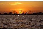 Sunset, Charleston Harbor, Charleston, South Carolina