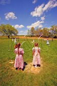 School Recess in the Shenandoah Valley of Virginia