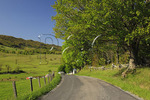 County road in western Highland County, Virginia