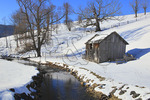Barn and Stream, Hightown, Virginia