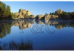 Sylvan Lake, Custer State Park, Rapid City, South Dakota