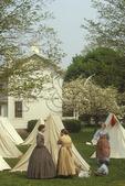 Civil War Reenactment, Shenandoah Valley, McDowell, Virginia