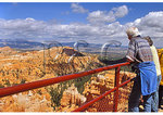 View from overlook, Bryce Canyon National Park, Utah
