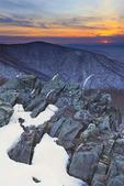 Appalachian Trail, On Betty's Rock, Shenandoah National Park, Virginia