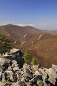 Blackrock Mountain, Appalachian Trail, Shenandoah National Park, Virginia