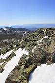 Appalachian Trail, On Little Stony Man Mountain, Looking at Skyland, Shenandoah National Park, Virginia