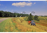 Baling Hay, Blue Ridge Parkway, Virginia