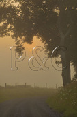 Sunrise in Swoope, Shenandoah Valley, Virginia