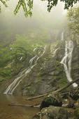 South River Waterfall in Shenandoah National Park, Virginia