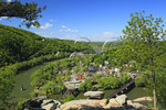 View from Maryland Heights, Harpers Ferry, West Virginia