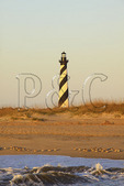 Cape Hatteras Lighthouse at Sunrise, Cape Hatteras National Seashore, Outer Banks, Buxton, North Carolina