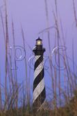 Cape Hatteras Lighthouse at Sunrise, Cape Hatteras National Seashore, Outer Banks, Buxton, North Carolina