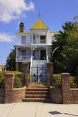 Historic 1854 Carteret Academy in Beaufort, North Carolina, USA