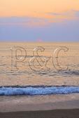 Sunrise over the Atlantic, Kitty Hawk, North Carolina, USA