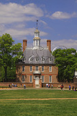The Governor's Palace in the Historic Area of Colonial Williamsburg, Virginia, USA