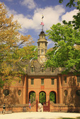 The Capitol Building in the Historic Area, Colonial Williamsburg, Virginia, USA
