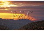 Sunrise at Doyles River Overlook, Appalachian Trail, Shenandoah National Park, Virginia