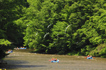 Rafting on the Youghiogheny Scenic River, Sang Run, Maryland, USA