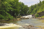 Upper Swallow Falls, Swallow Falls State Park, Oakland, Maryland, USA