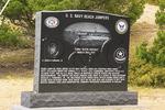 U.S. Navy Beach Jumpers Monument, Ocracoke Island, Cape Hatteras National Seashore, North Carolina, USA