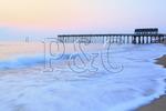 Fishing Pier at Sunrise, Kitty Hawk, North Carolina, USA