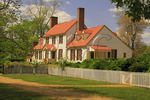 The St. George Tucker House in the Historic Area, Colonial Williamsburg, Virginia, USA
