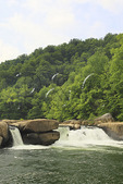 Valley Falls State Park, Tygart Valley River, Grafton, West Virginia, USA