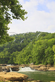 Valley Falls State Park, Tygart Valley River, Grafton, West Virginia, USA