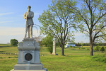 130th Pennsylvania Monument at Bloody Lane, Antietam National Battlefield, Sharpsburg, Maryland, USA