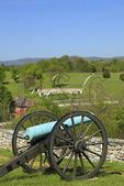 Cannon at Final Attack Site, Sherrick Farm, Antietam National Battlefield, Sharpsburg, Maryland, USA