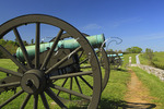 Cannons at the Site of the Final Attack, Antietam National Battlefield, Sharpsburg, Maryland, USA