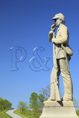 15th Pennsylvania Monument, Antietam National Battlefield, Sharpsburg, Maryland, USA