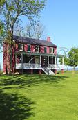 The Worthington Farm House, Monocacy National Battlefield Park, Frederick, Maryland, USA
