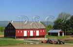 The Thomas Farm, Monocacy National Battlefield Park, Frederick, Maryland, USA